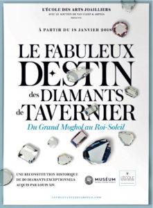 « Le Fabuleux destin des diamants de Tavernier » dévoilé par l'École des Arts Joailliers