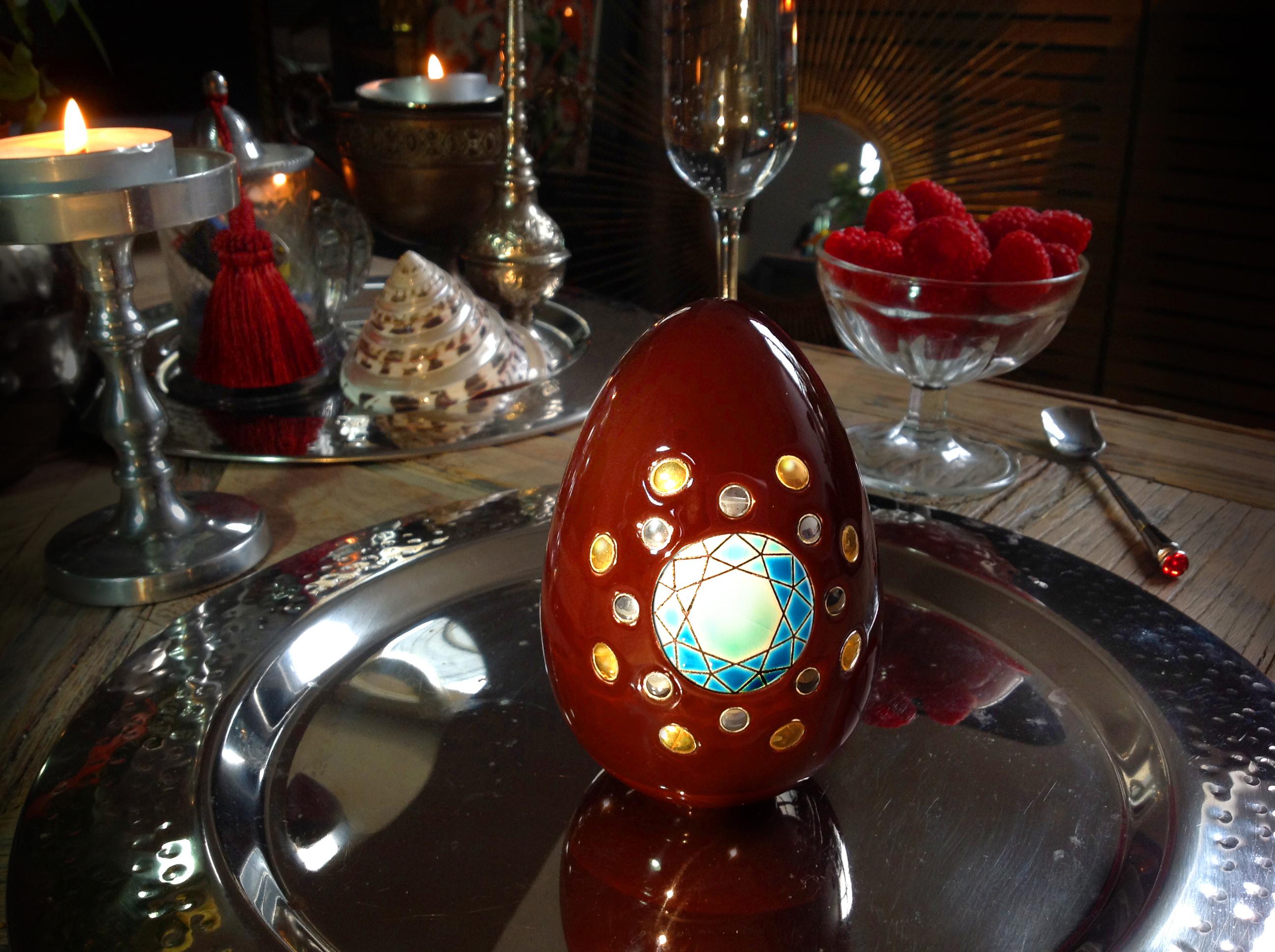 Pour Pâques croquez un oeuf-bijou !