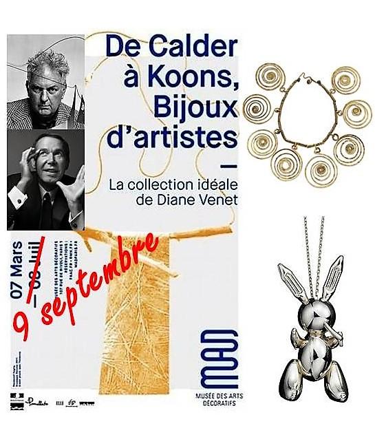 Read more about the article De Calder à Koons : les bijoux d'artistes visibles jusqu'au 9 septembre