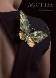 Le papillon de Suzanne Belperron prend son envol chez Aguttes