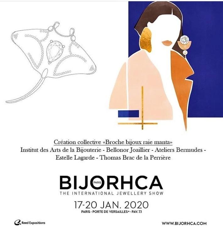 logo savoir-faire joaillier Bijorhca 2020