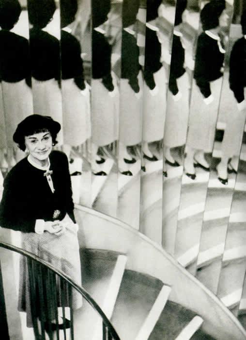 Gabrielle Chanel en 1954