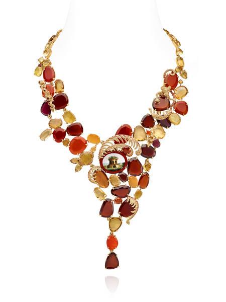 collier Micromosaïque Lydia Courteille
