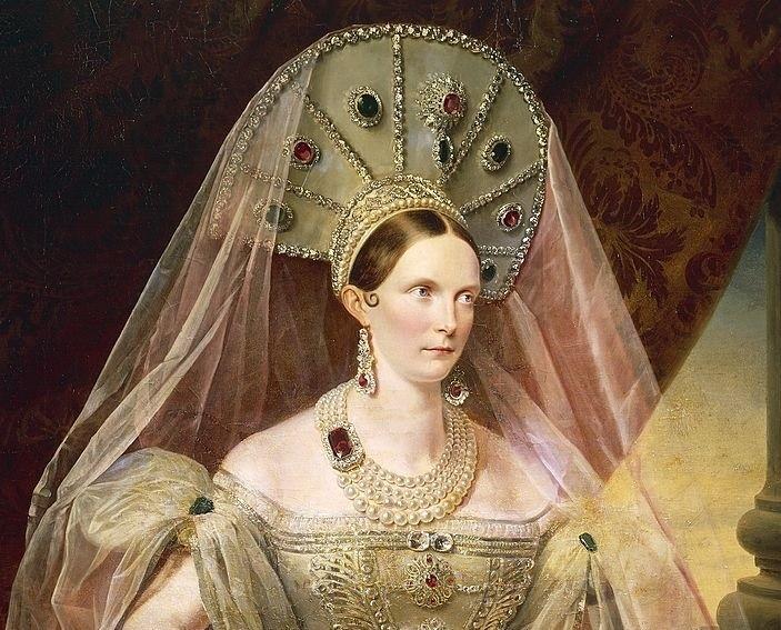 impératrice Alexandra Féodorovna Kokochnik