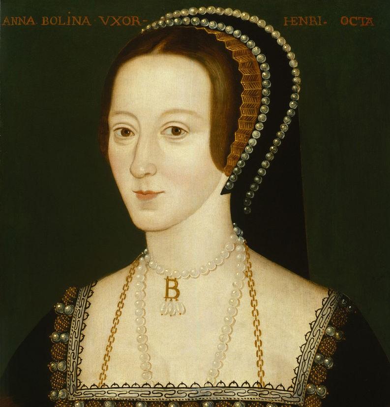 Anne Boleyn, épouse de Henri VIII - Portrait National Gallery- il était une fois le bijou
