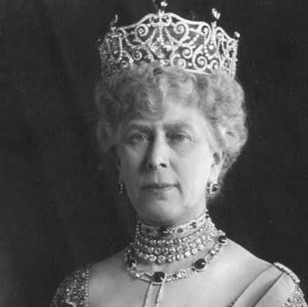 la reine Mary d'Angleterre