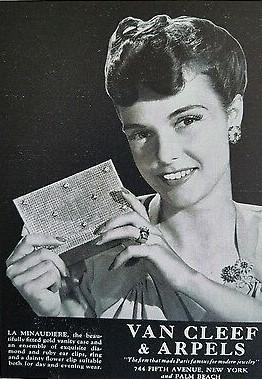 1943 - publicité minaudière - Van Cleef & Arpels