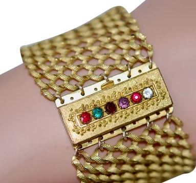 bracelet acrostiche -dearest