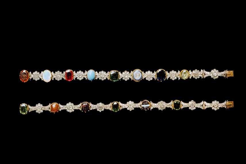 bracelets acrostiches de Joséphine