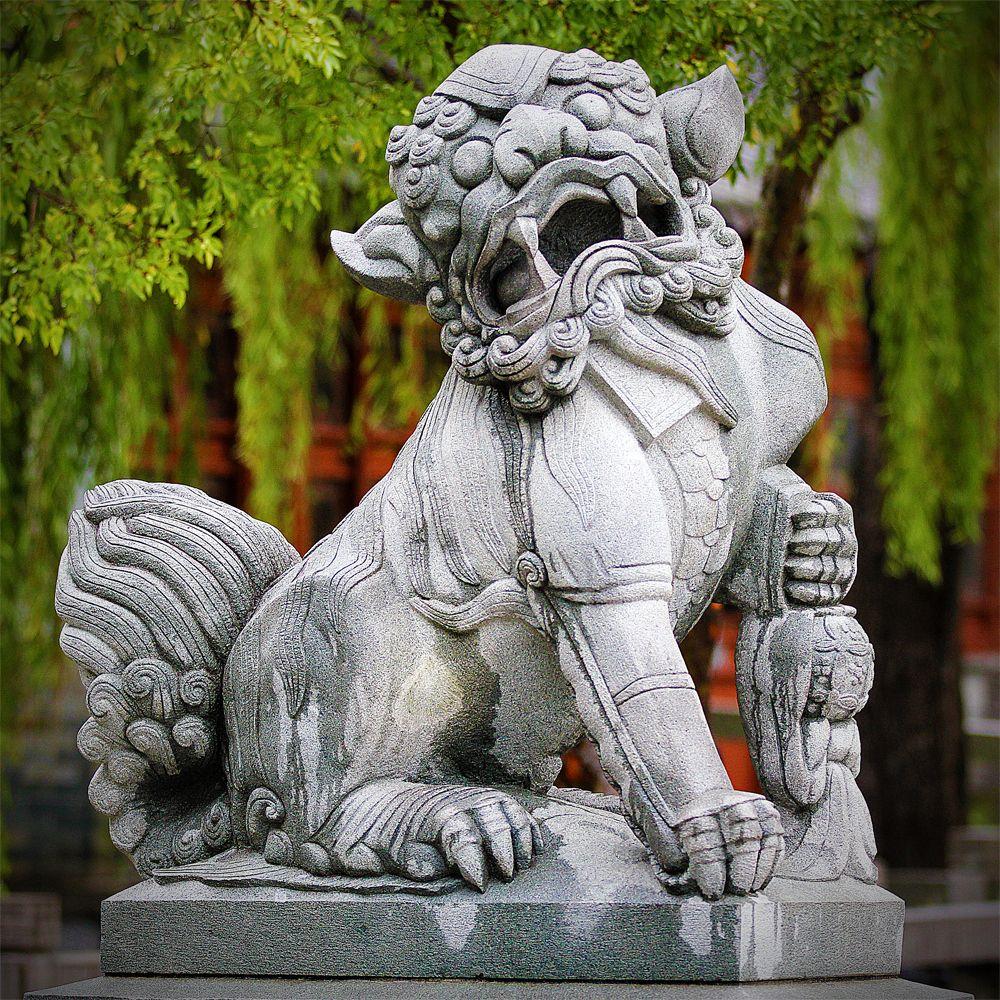 lions-shishi-fu dog - il était une fois le bijou