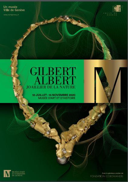 affiche de l'exposition Gilbert Albert