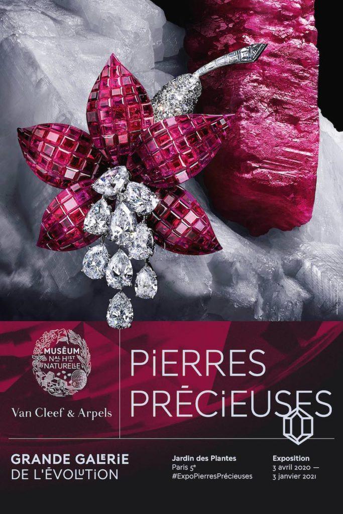 affiche exposition Pierre Précieuses