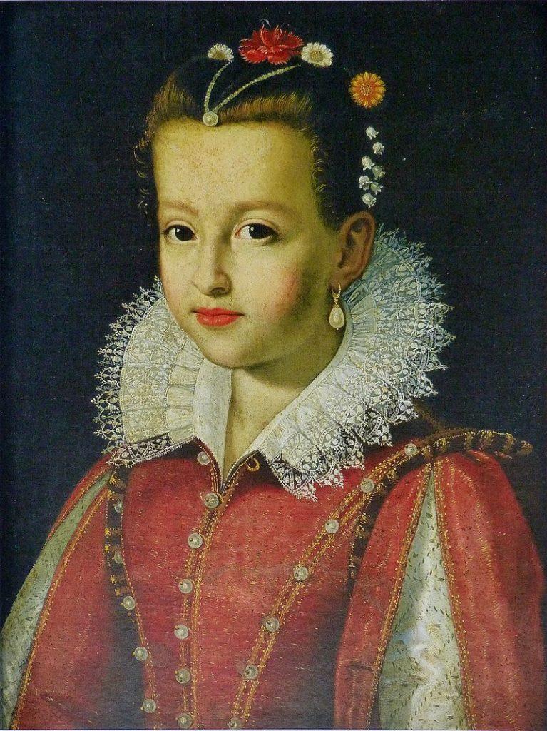 Marie de Médicis enfant