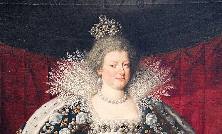 Marie de Médicis et les bijoux