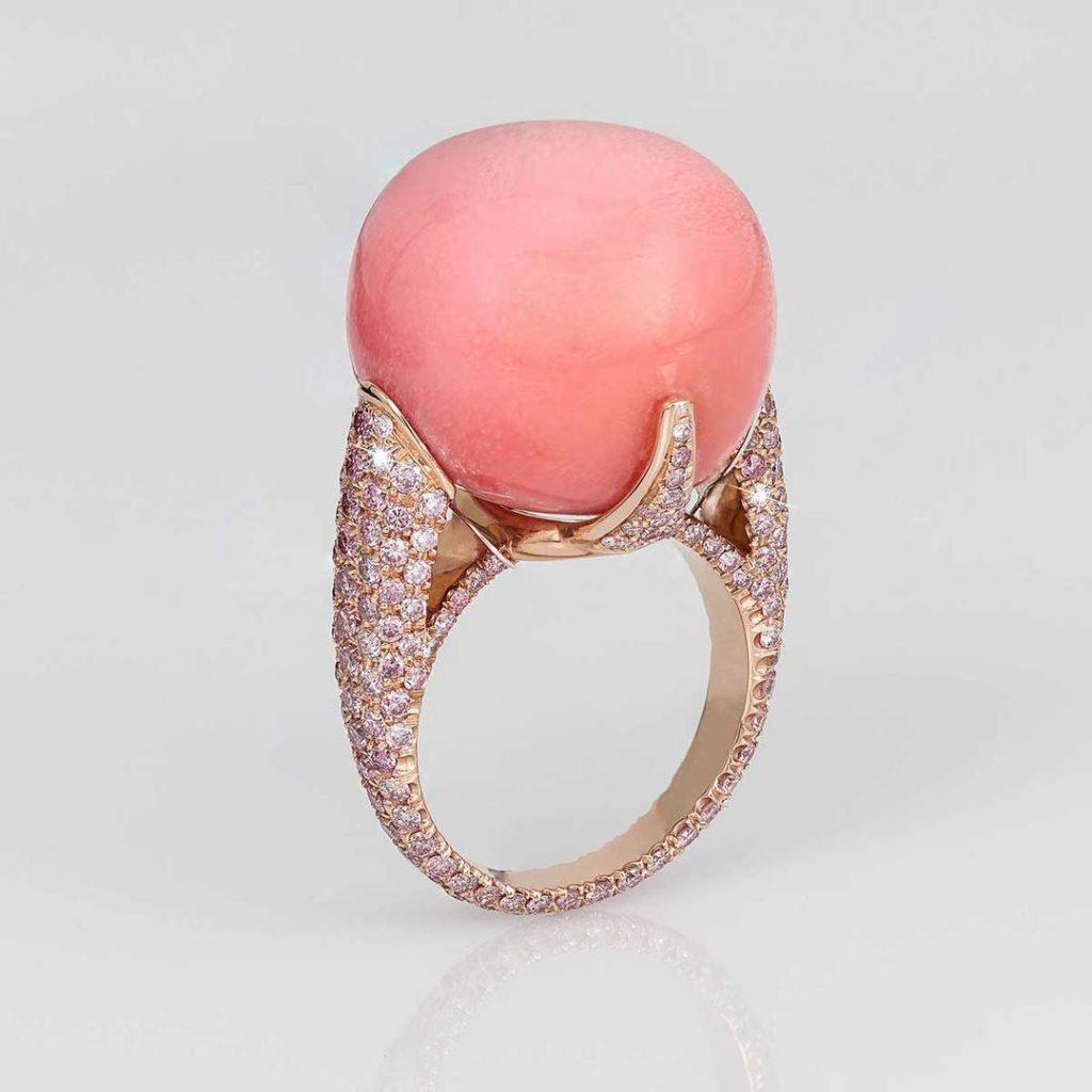 David Morris perle de conch de 44,55 carats