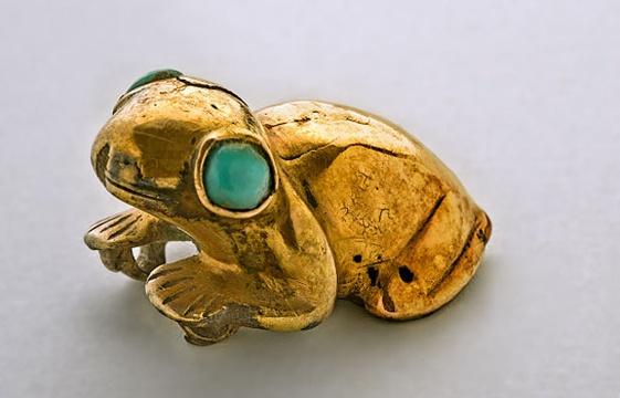 grenouille maya - quai Branly
