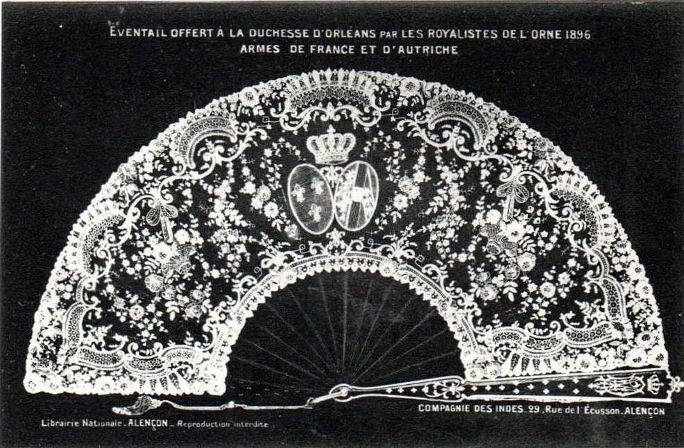 éventail de la Duchesse d'Orléans