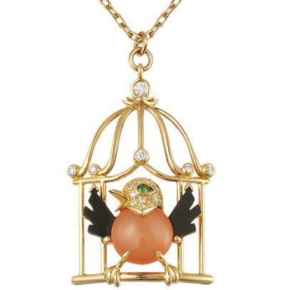 Cartier oiseau en cage 2013