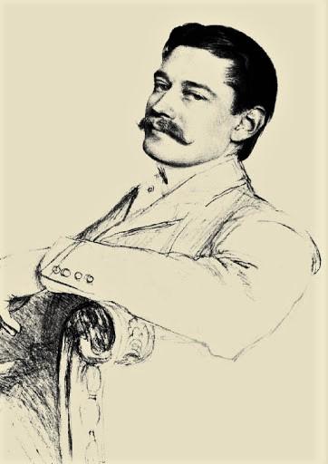 Louis Cartier par Santos Dumont