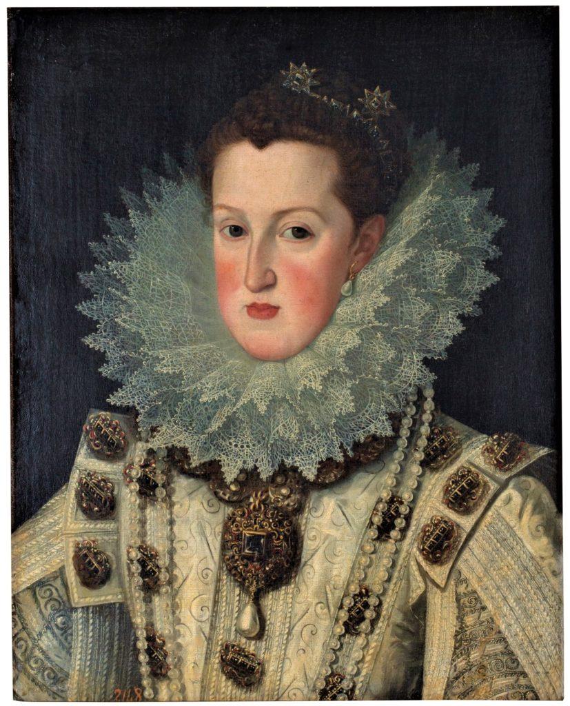 Marguerite d'Autriche portant La Pérégrina