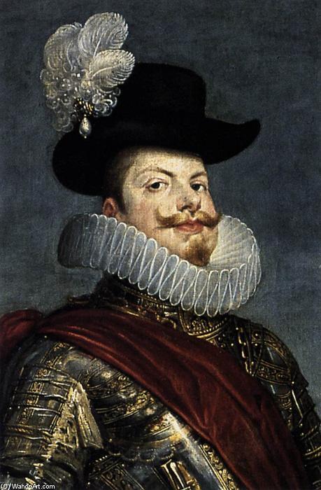 Philippe III portant La Pérégrina à son chapeau