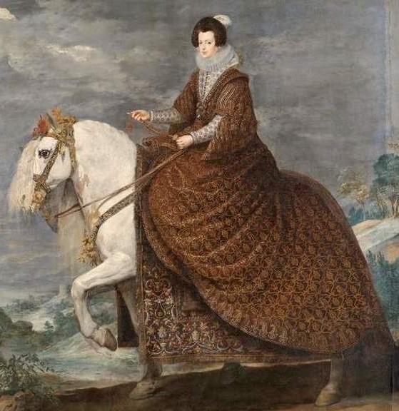 Isabelle de Bourbon portant la Pérégrina