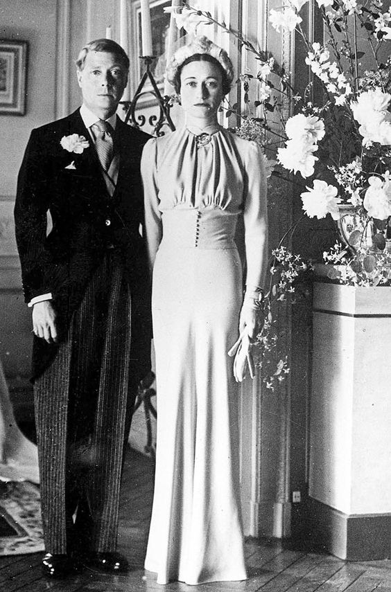 Wallis simpson et Edouard VII se marie le 3 juin 1937