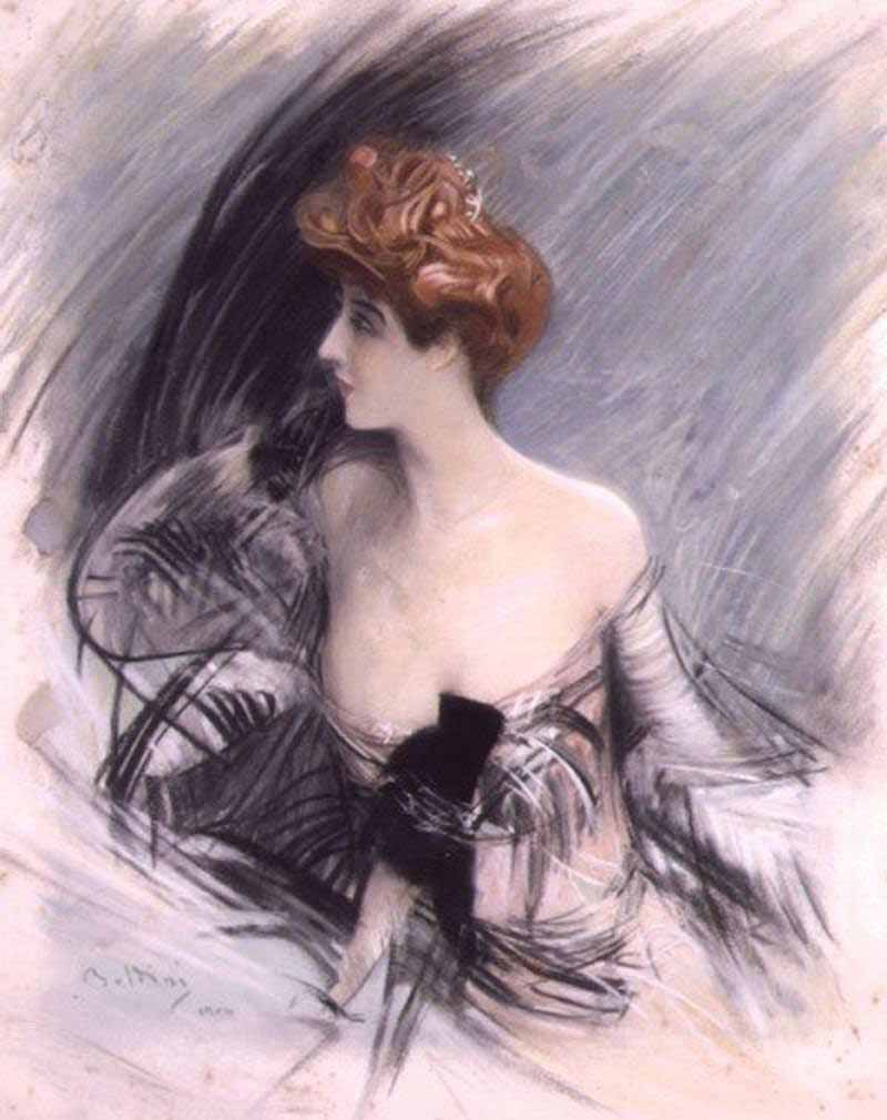 Sarah Bernhardt par Di Giovanni Boldini-1880