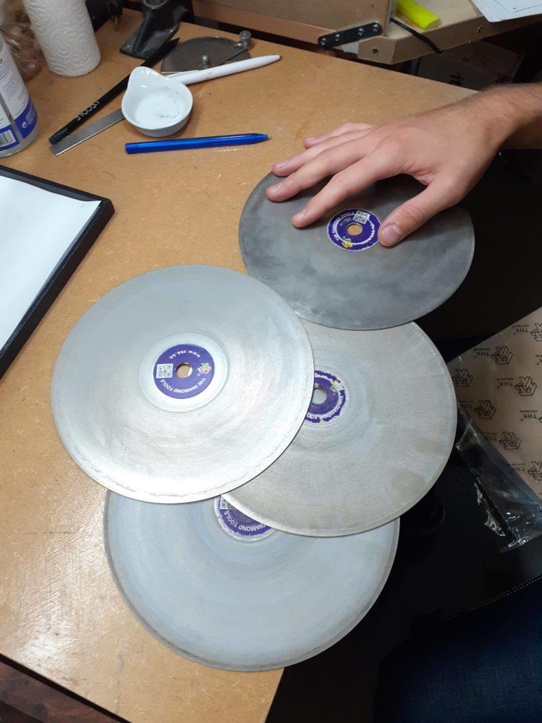les disques du lapidaire