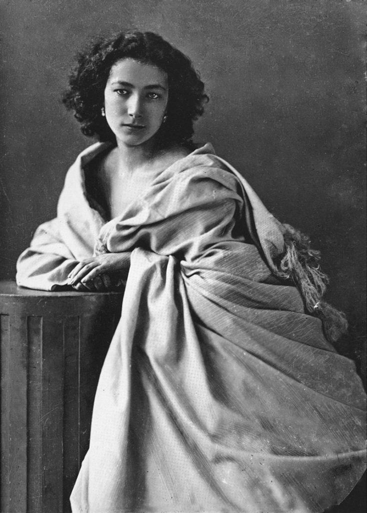 Sarah Bernhardt par Félix Nadar