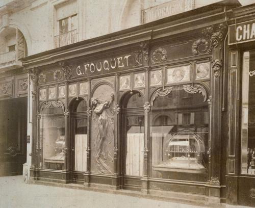 devanture de la joaillerie Fouquet