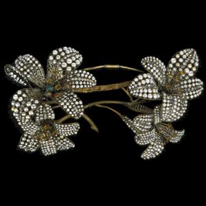 serre tête Lalique pour Sarah Bernhardt - Mélissinde dans Princesse lointaine