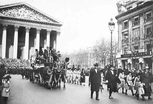 Funérailles de Sarah Bernhardt
