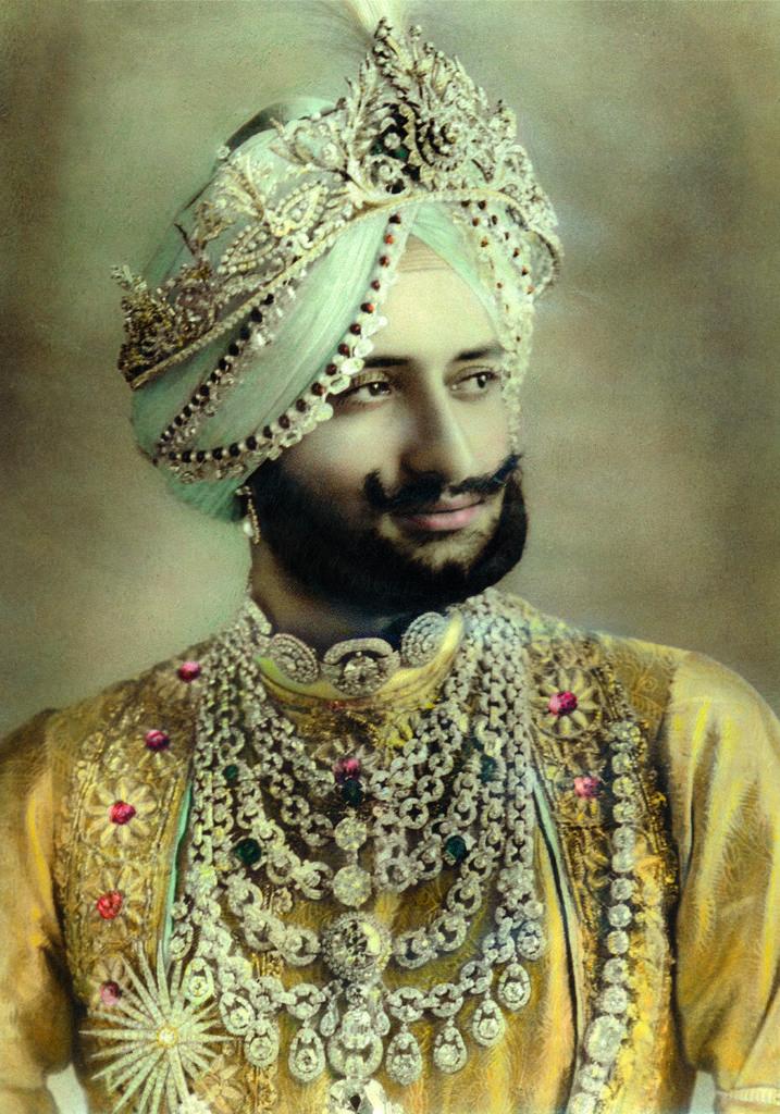 Maharajah de Patiala, Archives-Cartier-©-Cartier