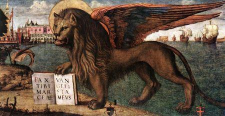 Lion de Saint Marc - Carpaccio - 1516
