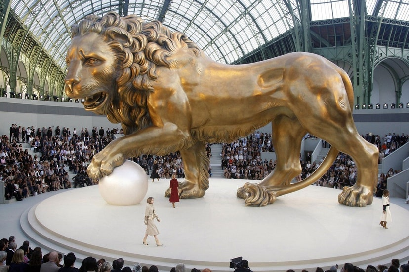 défilé haute couture Chanel 2011