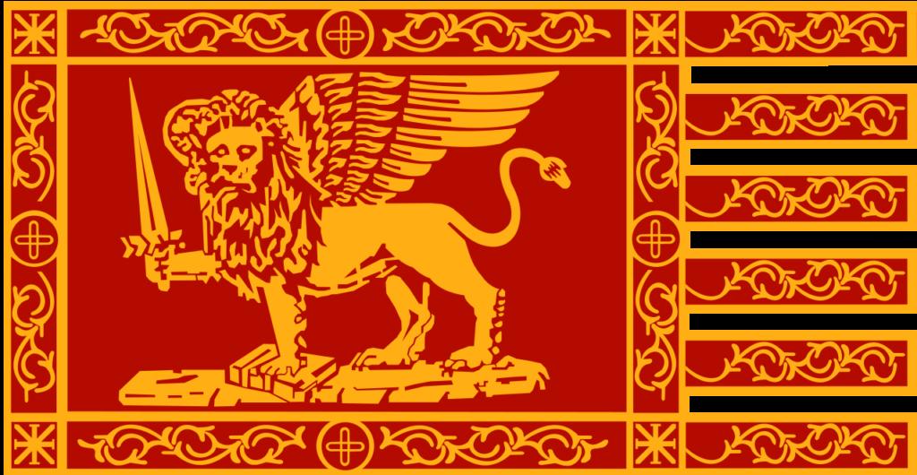 drapeau de guerre de la République de Venise
