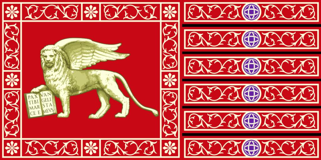 drapeau de paix de la République de Venise