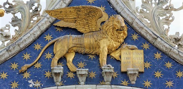 Lion de la Basilique Saint Marc à Venise